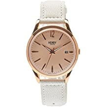 Henry London Pimlico Analogue Quartz Unisex Wrist Watch Leather (HL39 0112 (Certified Refurbished)