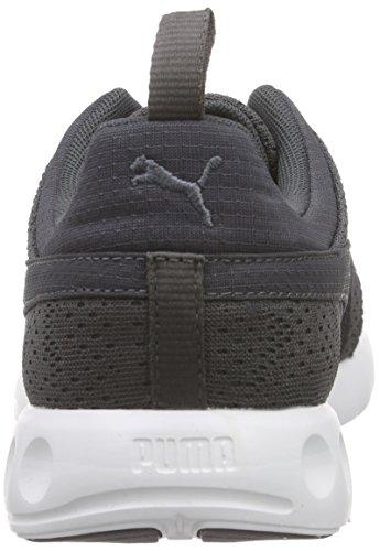 Puma Carson Camo Unisex-Erwachsene Sneaker Grigio (Asphalt/White 04)