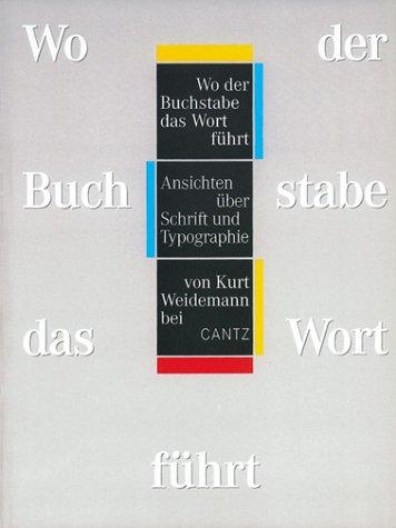 Wo der Buchstabe das Wort führt Buch-Cover