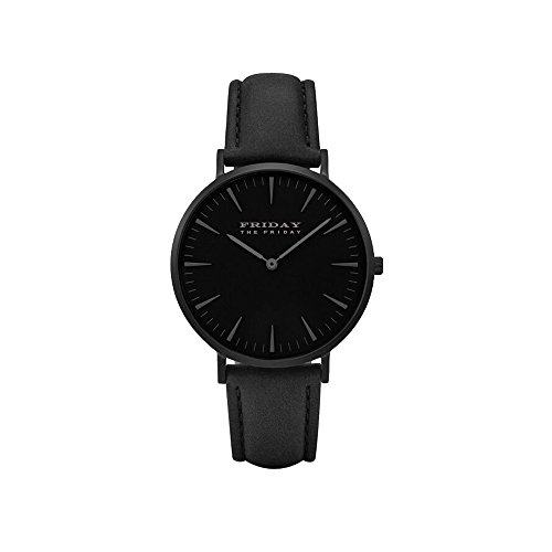 men Uhr Analog Quarz mit Leder Armband ()