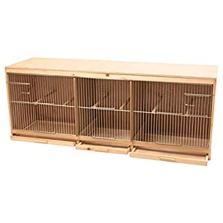 Duvo+ Kit Bird Breeding Cage in Wood, 3 Parts Duvo+ Kit Bird Breeding Cage in Wood, 3 Parts 41494aUX TL