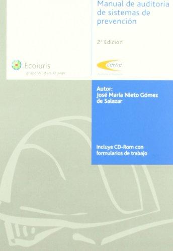 Manual de auditoria de sistemas de prevencion 2ª edicion por Jose M Nieto Gomez De Salazar
