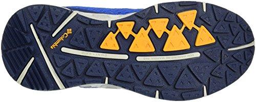 Columbia Youth Drainmaker Iii, Chaussures de Running Compétition Garçon Bleu (Stormy Blue, White 427)