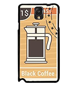 iFasho Coffee jug painting Back Case Cover for Samsung Galaxy Note 3