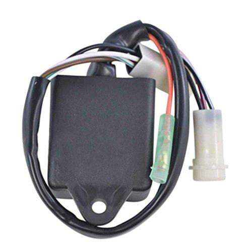 Meisijia Haute percompatible withmance CDI Box compatible avec YFM 225 250 Moto 4 1986 1988 1989 1990 1991 Accessoires moto