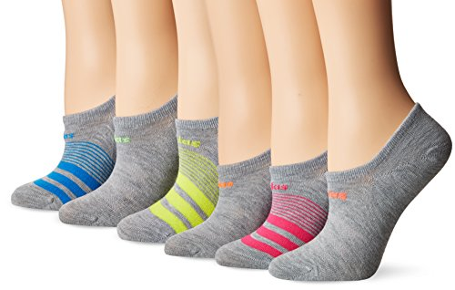 adidas Women's Superlite 6 Pack Super No Show Socks