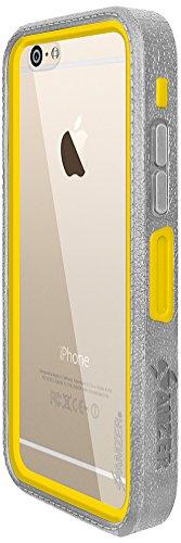 Amzer Crusta edge2edge Shell Housse Coque Étui robuste avec verre trempé et clip ceinture pour iPhone 6Or/Argent _ P Gold/Grey/Silver/Yellow