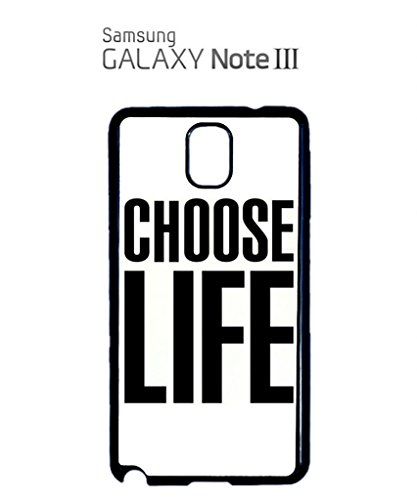 Choose Life Geek Mobile Cell Phone Case Samsung Galaxy S3 Black Blanc