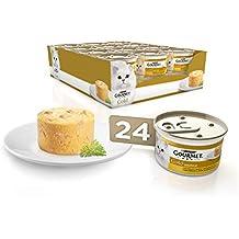 Purina Gourmet Gold Soufflé comida para gatos con Pollo 24 ...