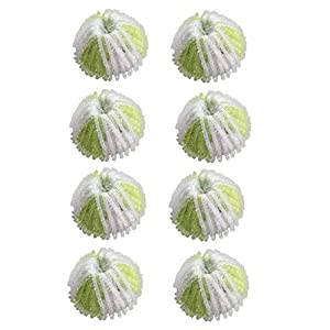 Ynbb 8Pcs Hair Lint Fluff Grabbing Laundry for Washing Machine Wash Ball Cleaning, New Unique Convex Design Collecting air