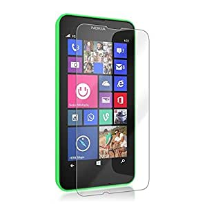 Chevron Anti-Shatter Tempered Glass Screen Protector For Microsoft Lumia 535 (Pack Of 2)