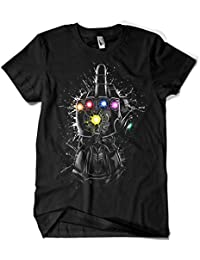 Camisetas La Colmena 4066-Thanos Infinite Fuck (albertocubatas)