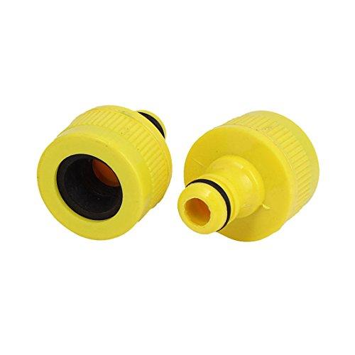 X-Dr Garten-Wasser-Spritzpistole Kunststoff-Schnellverbinder 2 Stück für 16mm Durchmesser Schlauch (592847827be74622b28f1fee0a67a9d3)