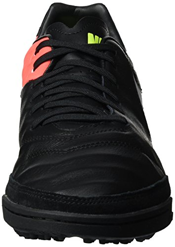 Nike 819224-018, Chaussures de Football en Salle Homme Noir (Black/white-hyper Orange-volt)