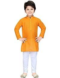 Shree Shubh Boy's Ethnic Kurta Payjama Set