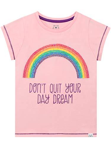 Harry Bear Mädchen Regenbogen T-Shirt Rosa 116