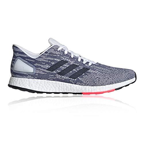 Adidas Pureboost DPR, Zapatillas de Trail Running para Hombre, (Ftwbla/Tinley/Rojsho 000), 43 1/3 EU