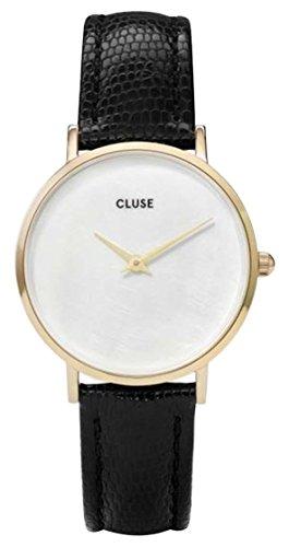 Cluse Reloj Analógico Cuarzo Cuero