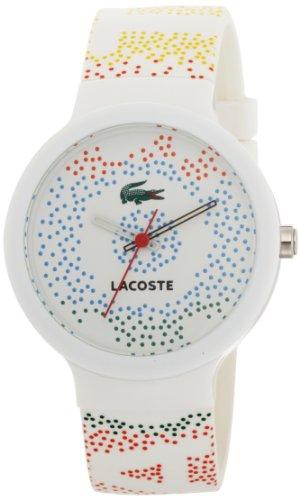 Lacoste 2010531 - Orologio da polso unisex, silicone, colore: multicolore