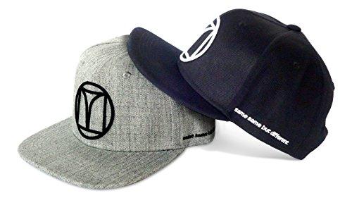 Punchline Golf Snapback Moderne Cap mit markantem 3D Logo (Schwarz)