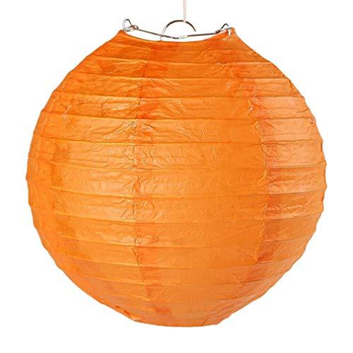 junkai 5 PCS Runde Papierlaternen-Lampenschirm-Seidenpapier-Pompons/Waben-Ball-Ventilator-Tabellen-Mittelstück-Girlanden-Hochzeits-Dekoration 15/20/25/30/35 / 40CM
