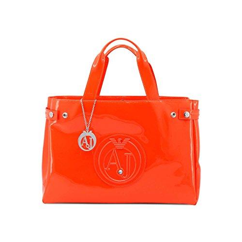 86bf7b55d5f63 Armani Jeans 922591CC855 Shopper Damen Orange -cabana-kunsthaus.de