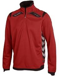 Hummel Uni Sweatshirt - Sudadera, tamaño L, color auténtico red