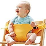 sensadore Included Component 1 pc Baby Chair Portable Safety Seat Belt - Color: Yellow : Yellow