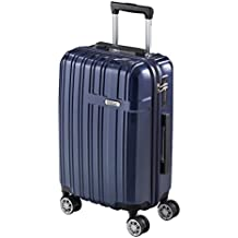 Maleta de Viaje Cabina Easyjet Equipaje de Mano 55 cm Juego de Maletas Trolley Azul/