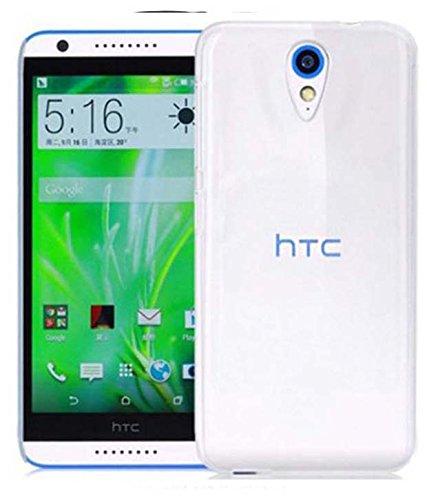 OFM Transparent Back Cover Case For HTC Desire 620/620G Dual Sim - Transparent