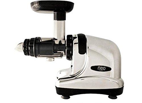 Neo Slow Juicer DA-1000 / Entsafter / Horizontaler Entsafter / Saftpresse - extrem leise - 200 Watt - BPA frei - 20 Jahre Garantie auf den Motor - Heilkräuter-drucke