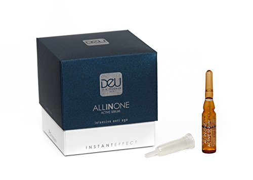 DeU All in One Active Serum - 3 Ampullen Intensiv Anti Aging...