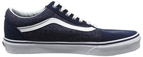 Vans Old Skool, Chaussures de Running Homme Bleu (Suede/suiting)