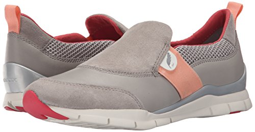 Grigio 41 EU Geox D Sukie A Scarpe Low Top Donna Grau Lt GREYC1010 8be