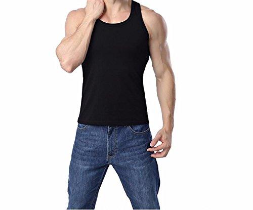 KAFEI Männer Arbeitsweste neue Baumwolle, schwarz, M (Pant Pocket Quartal)
