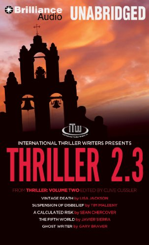 Thriller 2.3: Vintage Death, Suspension of Disbelief, A Calculated Risk, The Fifth World, Ghost Writer