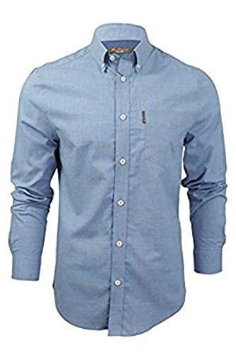 Ben Sherman Long Sleeve Shirt MA13570 Blue