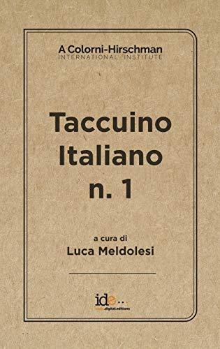 Taccuino italiano n. 1 (Italian Edition) eBook: Luca Meldolesi ...
