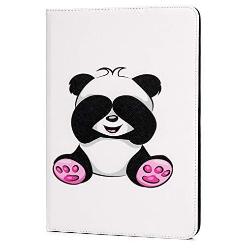 Mlorras iPad Pro 11'' Hülle Leder case Ultra Slim Leichtgewicht Stoßfest Schutzhülle Tasche für Apple iPad Pro 11 Zoll 2018 Version Mit verbundenen Augen Bär