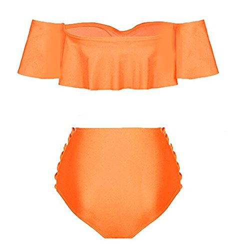 Bepo Damen Bikini-Set Orange