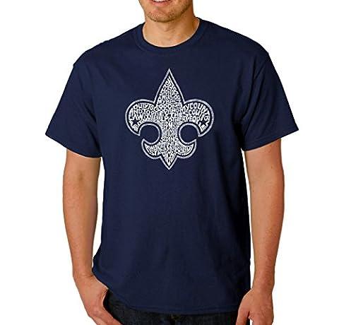 Greucy-darkMen's Graphic Novelty T-shirt Tees 100% Cotton - Boy Scout Oath