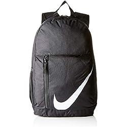 Nike Y Nk Elmntl Bkpk Mochila, Unisex Niños, Negro/Blanco, Talla Única