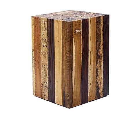 Beistelltisch Couchtisch Tisch Holz Treibholz Hocker massiv schwer riesig Echtholz Neu + Brillibrum Flyer Geschenke Für Ostern Geschenkidee Kinder Holz Massivholz