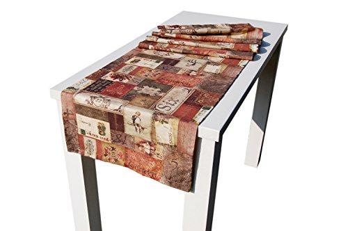 """beties """"Advents-Poesie"""" Tischläufer ca. 40x150 cm in großer Sortiments- und Größenauswahl - vorweihnachtliche Stimmung für alle Lebens- und Einrichtungsstile"""
