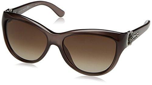 Gucci Sonnenbrille 3711/S HA (58 mm) grau