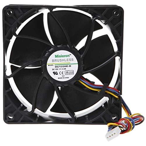 6500U/min Fan für Antminer D3/L3+/S9/T9/S7/X3/Z9Erupter ASICMINER NIDEC Ultraflo v12e12bs1b5-07
