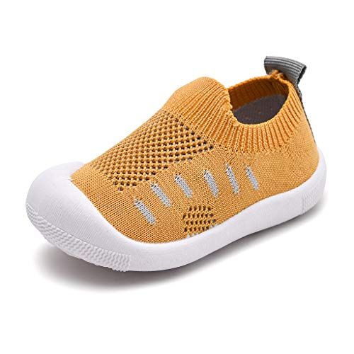 Pingtr Baby Outdoor Sport Sneaker Elastisches Tuch - Kleinkind Kleinkind Kinder Baby Mädchen Jungen Candy Farbe Mesh Sport Laufen Freizeitschuhe (Mädchen Rot Pailletten Kostüm Heels)