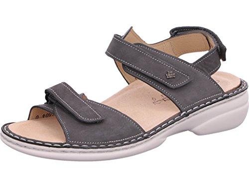 Finn Comfort Alora-S sandali con base letto Grau
