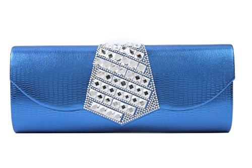 Damara, Poschette giorno donna Blu (blu)