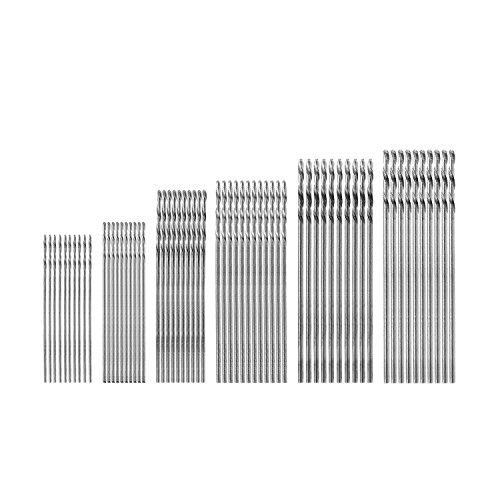 MuZuZi 60pcs Diritta Trapano legno Drill torsione